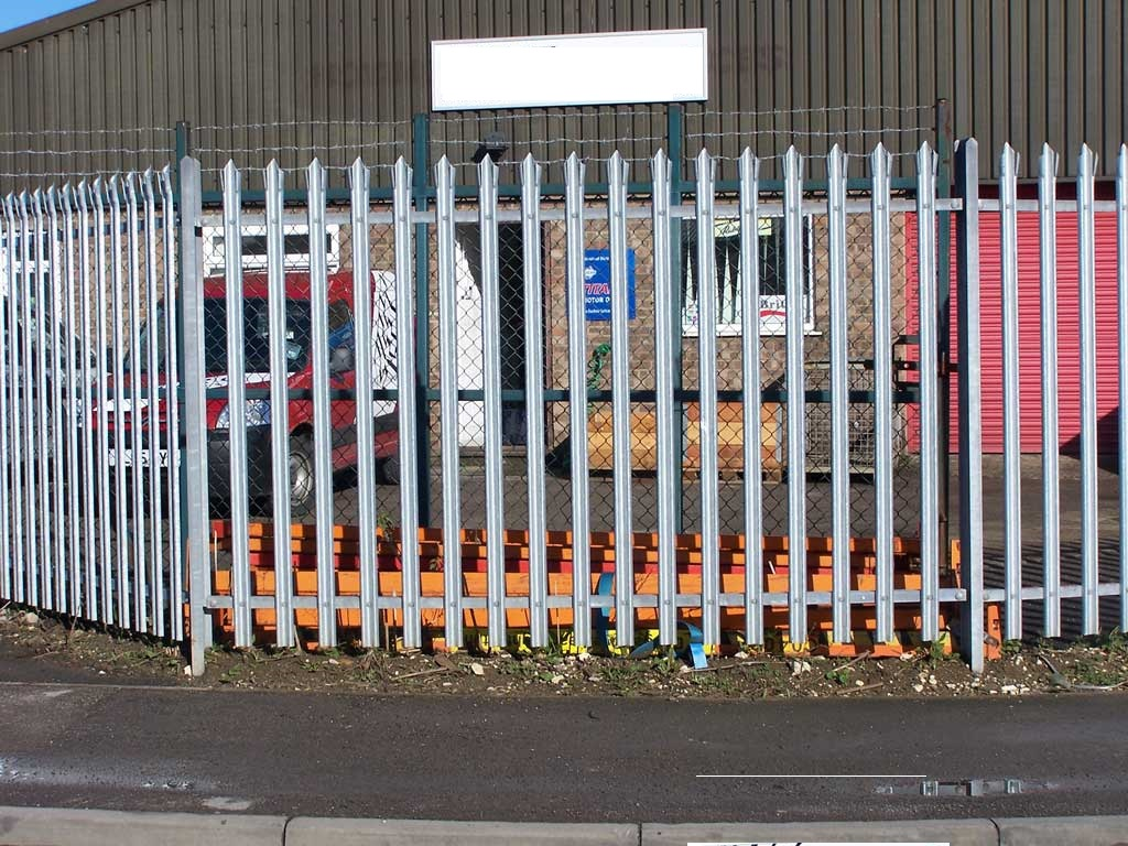 Security Fencing for a dealership