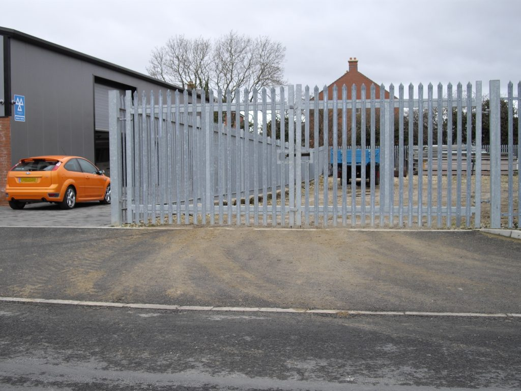with matching gate