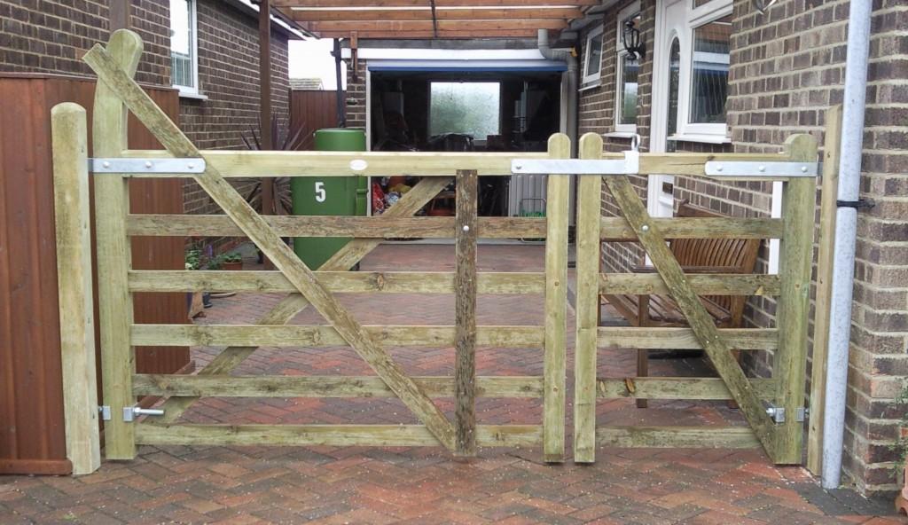 Wooden Gates 1