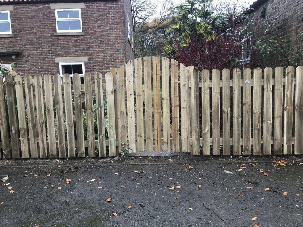 Wooden Gates 10
