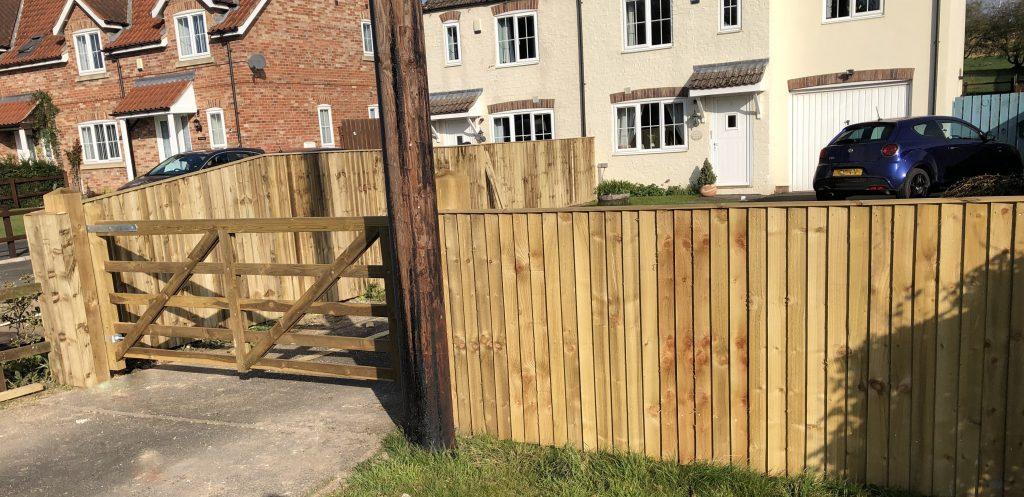Wooden Gates 13