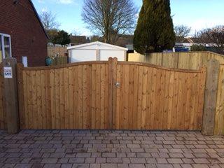 Wooden Gates 4