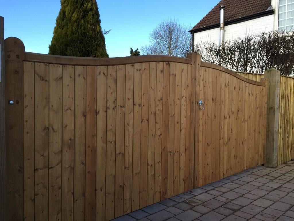 Wooden Gates 5