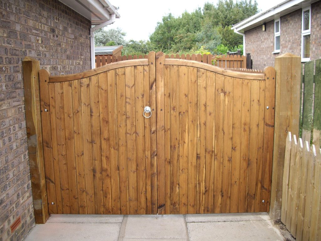 Wooden Gates 6