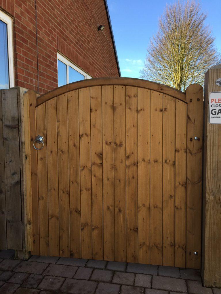 Wooden Gates 7