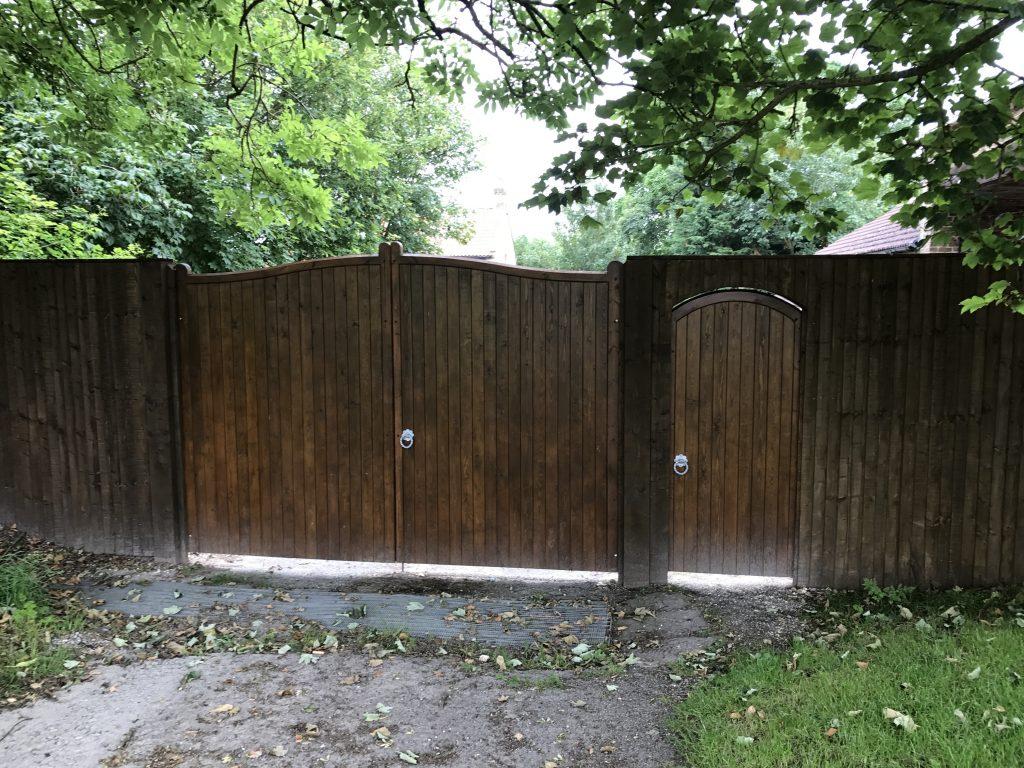 Wooden Gates 8